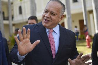 Diosdado Cabello, Venezuela's President of the National Constituent Assembly.