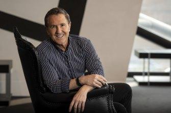Outgoing Melbourne Theatre Company artistic director Brett Sheehy.