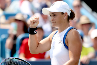 Ashleigh Barty is primed for her US Open push.
