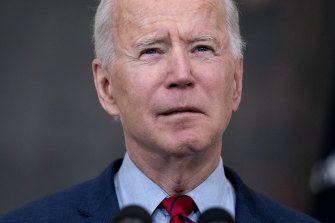 US President Joe Biden calls for a ban on assault weapons after the mass shooting in Boulder, Colorado.