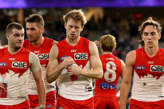 Tough times lie ahead for the Swans and the other 17 clubs in the AFL.