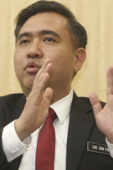 Malaysia's new Transport Minister Anthony Loke Siew Fook.