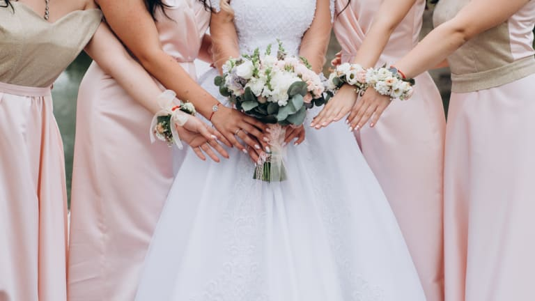 'I will never agree to be a bridesmaid again.'