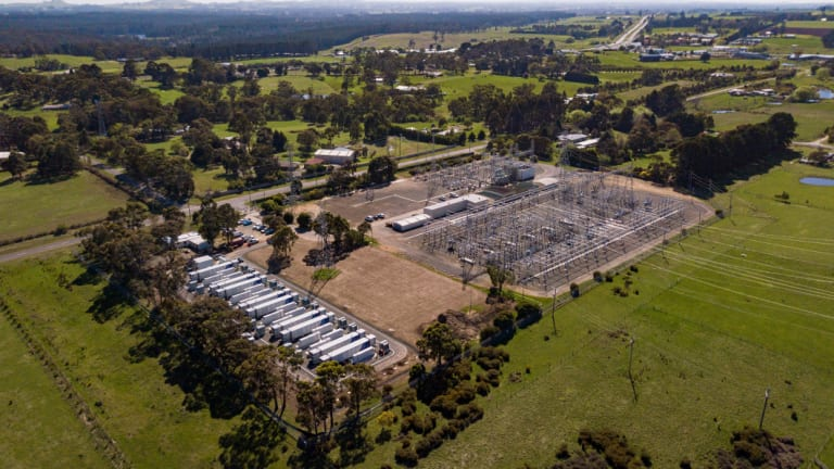 The Ballarat battery is the largest single battery storage installation in Victoria.