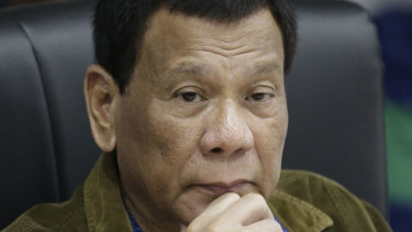 Leading the charge in war against drugs: Philippine President Rodrigo Duterte.