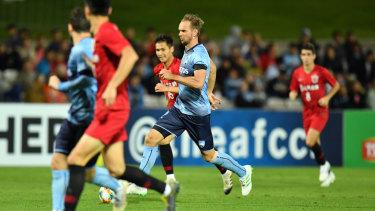 In doubt: Sydney FC marquee star Siem de Jong.