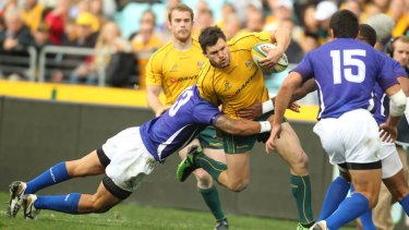 Adam Ashley-Cooper was on hand for the Wallabies' famous nine-point loss to Samoa in 2011.