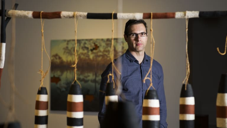 Nathan D'Cunha is a Canberra PhD candidate studying the effect of art on dementia patients.