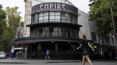 The Empire Hotel, Kings Cross.