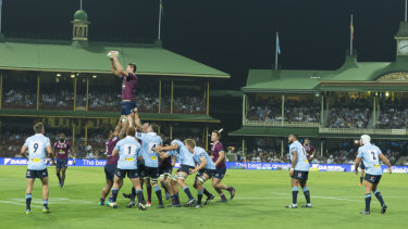 Heritage: The SCG provides a stunning backdrop to the Super clash but the surface appeared substandard.