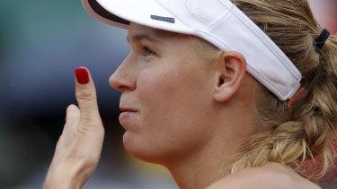 Denmark's Caroline Wozniacki.