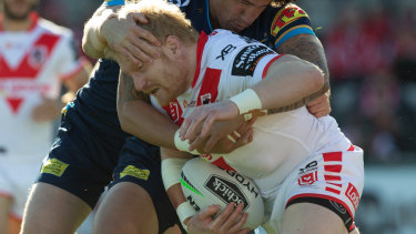 James Graham played his 400th game of first grade across the NRL and Super League.