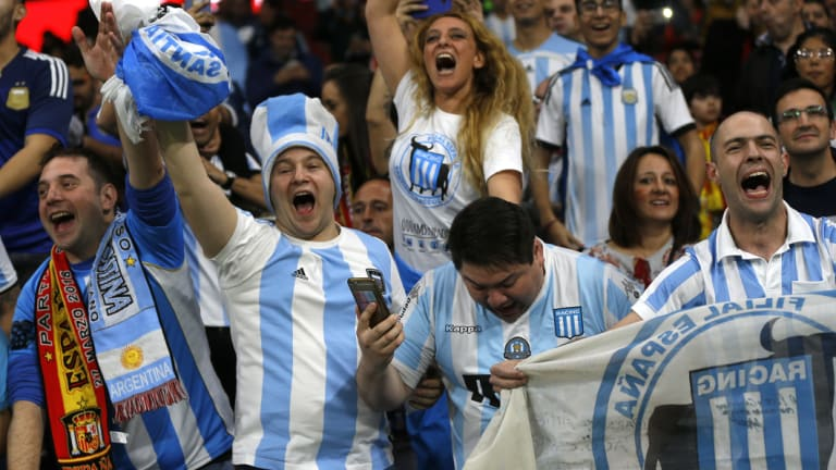 Argentianian football fans would be in for a treat if the 2030 World Cup heads to South America.