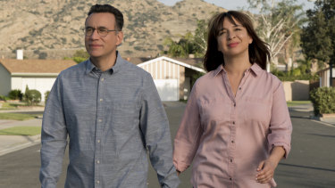 Fred Armisen and Maya Rudolph star in Forever.