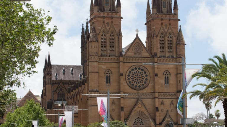 St Mary's Cathedral is introducing credit card compatible collection plates.