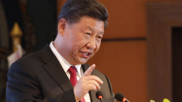 President Xi warns attempts to split China 'will end in crushed bodies'
