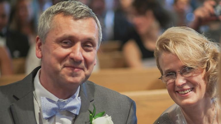 Mr Walkowski and his wife were 'on a trip of a lifetime' when tragedy struck.