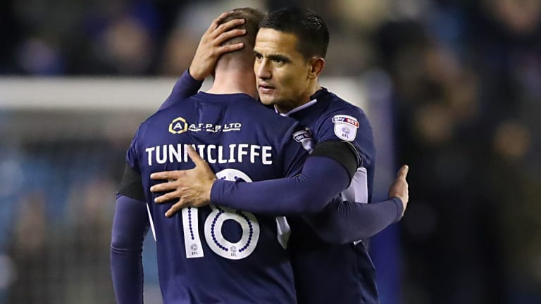 Reputation precedes him: Tim Cahill earned a Socceroos spot despite minimal game time with Milwall.