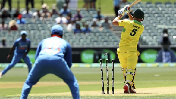'He's not far off': Finch out of luck as well as form, says Langer