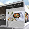 David Jones and BP are bringing fancy food to petrol stations