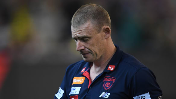 Loss to Richmond is a step forward, says Demons coach