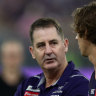 Ross Lyon's daughter told him 'you need to coach better'