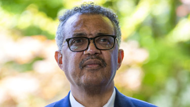 """Tedros Adhanom Ghebreyesus, Director-General of the World Health Organisation, condemned the """"lack of leadership"""" during the pandemic."""