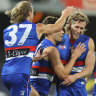 Bulldogs remain in finals fight after downing Eagles in a thriller