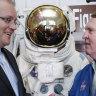 Australia aims for the moon in NASA deal for $12 billion space program