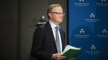 The Fed is watching: RBA chief Philip Lowe is targeting three-year government bond yields to help the economy in the recession.