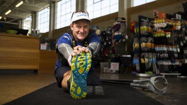 Michael Milton will race in a 22 kilometre ultra trail event.