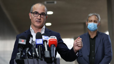 Acting Victorian Premier James Merlino announced a new lockdown on Thursday.
