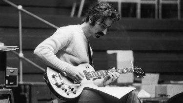 Frank Zappa in 1969.