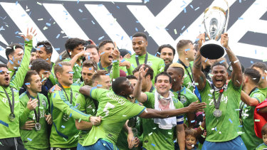 It was Seattle's second triumph in the past four seasons.