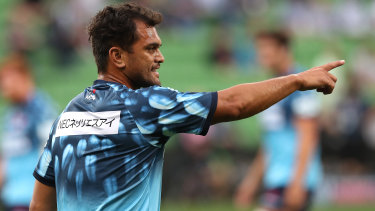 Karmichael Hunt returns to the NSW line up this week.