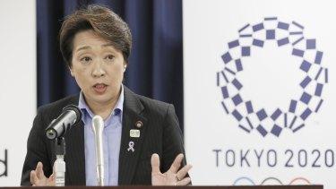 New Tokyo Olympics chief Seiko Hashimoto.