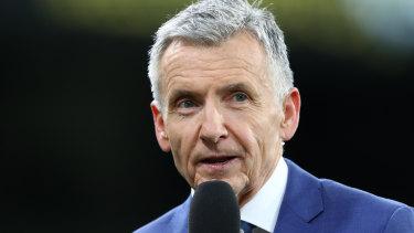 McAvaney has called his last AFL game.
