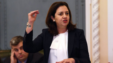 Annastacia Palaszczuk said she would receive a briefing on the latest issue with the troubled software system.