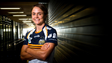 Brumbies fullback Rachel Crothers wants to go to the Olympics next year.