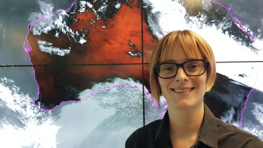 Grace Legge studied maths and physics at the University of Melbourne, but found her niche with an atmospheric science subject. She majored in it and, after a travel year, joined the Bureau of of Meteorology's graduate program.