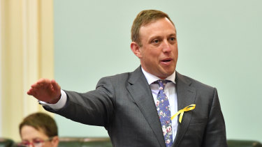 Queensland Health Minister Steve Miles.