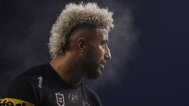 Viliame Kikau will be one of Penrith's major players in the NRL Grand Final.