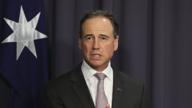Health Minister Greg Hunt imposed new travel restrictions on April 30.