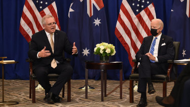 Australian Prime Minister Scott Morrison and US President Joe Biden unveiled new pledges to vaccinate the world against COVID-19.