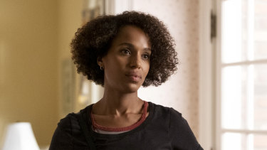 Kerry Washington plays a single mother in Little Fires Everywhere.