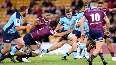 Will Harrison has had a breakthrough year in Super Rugby AU.