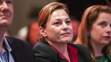 Deputy Premier Jackie Trad would not speculate on what impact the house purchase might have on her chances of being re-elected.