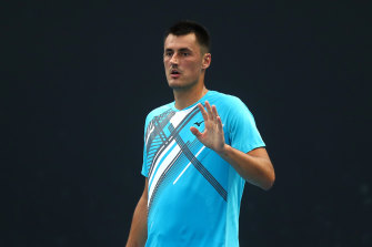 Bernard Tomic is through to the second round.