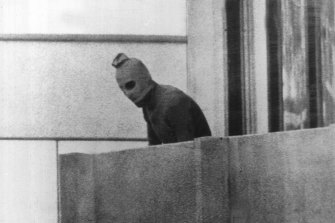 One of the terrorists from Black September.