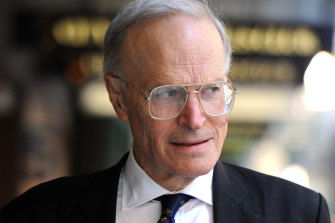 Former High Court judge Dyson Heydon.